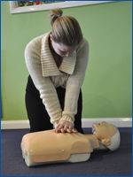 Little Harriers parents first aid course