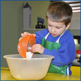 Llittle Harriers - Pre-school cooking